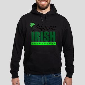 Arkansas Irish Hoodie (dark)