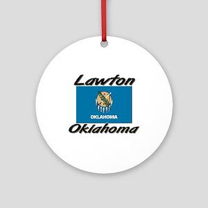 Lawton Oklahoma Ornament (Round)