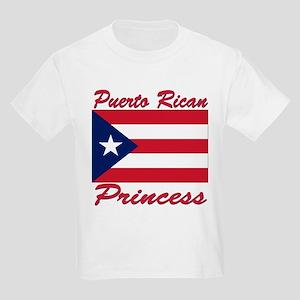 Puerto rican pride Kids Light T-Shirt