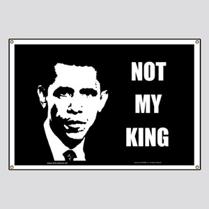 Not My King Banner
