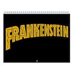 Classic Monster Of Frankenstein 2018 Wall Calendar