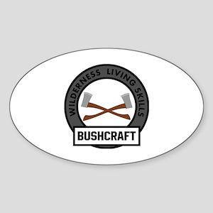 BadgeWork Bushcraft Emblem Sticker