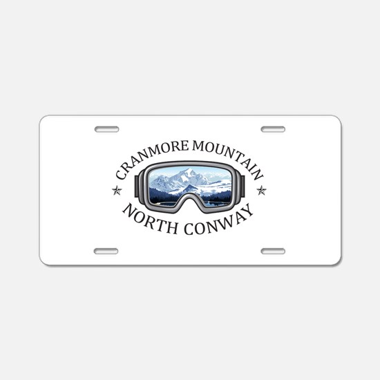 Cranmore Mountain Resort - Aluminum License Plate
