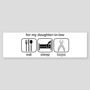 Daughter-in-law ESHope Lung Bumper Sticker