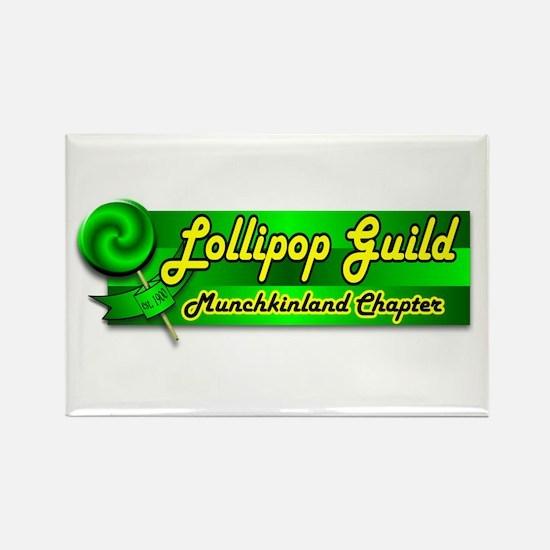 Lollipop Guild Rectangle Magnet