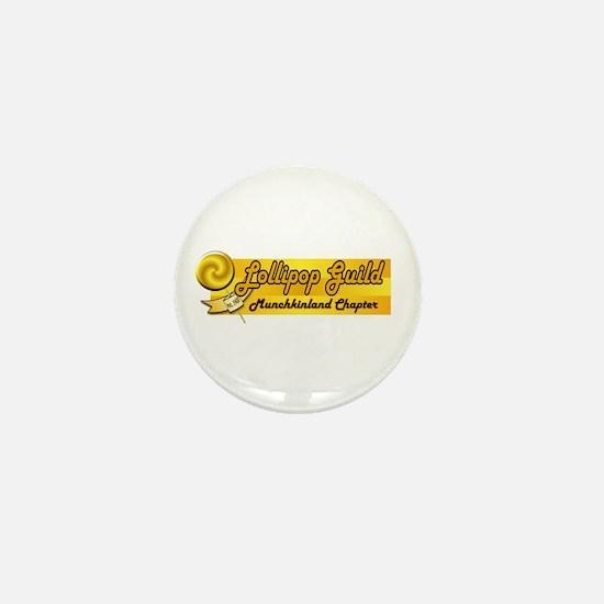 Lollipop Orange Mini Button