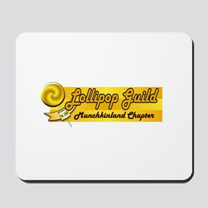 Lollipop Orange Mousepad