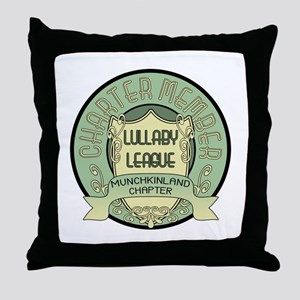 Lullaby League Throw Pillow
