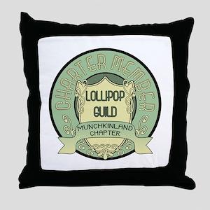 Lollipop Guild Throw Pillow