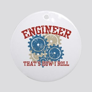 Engineer Ornament (Round)