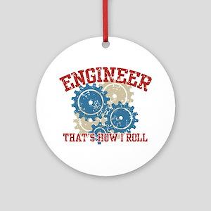 Engineer Ornament (Round)