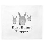 Dust Bunny Trapper King Duvet