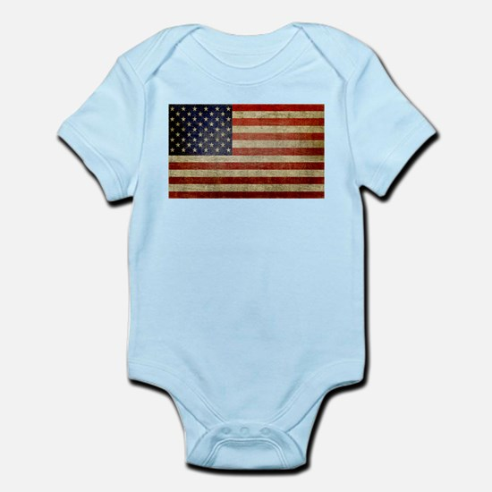 Antique Flag Infant Bodysuit