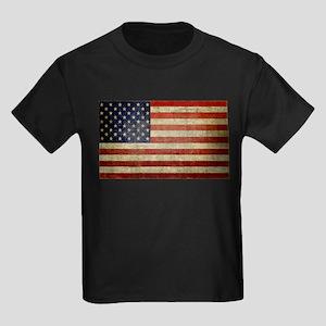Antique Flag Kids Dark T-Shirt