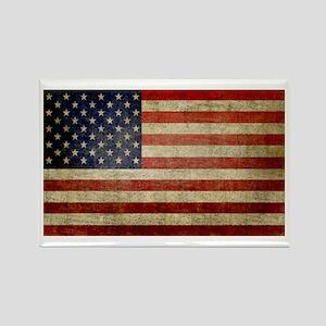 Antique Flag Rectangle Magnet