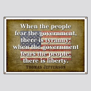 Jefferson: Liberty vs. Tyranny Banner