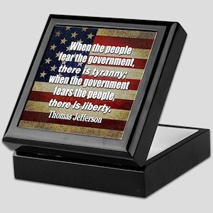 Jefferson: Liberty vs. Tyranny Keepsake Box