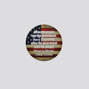 Jefferson: Liberty vs. Tyranny Mini Button