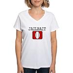 Jailbait Women's V-Neck T-Shirt