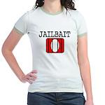 Jailbait Jr. Ringer T-Shirt