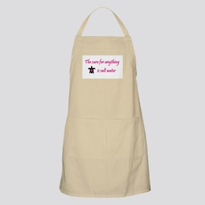 The cure for everything... BBQ Apron