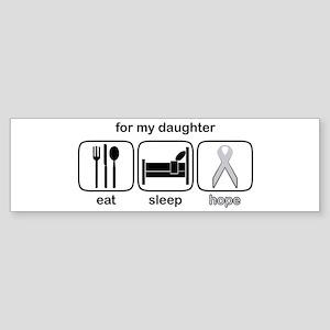 Daughter ESHope Lung Bumper Sticker