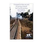 Journey Mini Poster Print