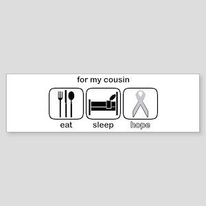 Cousin ESHope Lung Bumper Sticker