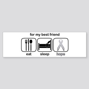 Best Friend ESHope Lung Bumper Sticker