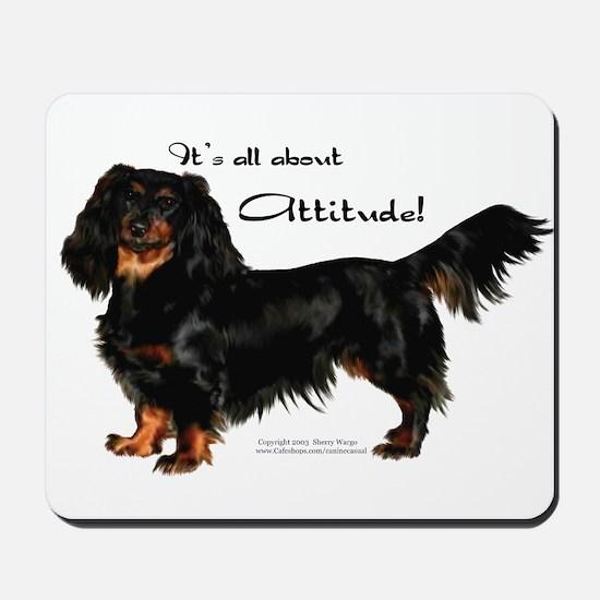 Dachshund Attitude Mousepad