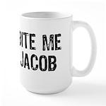 Bite me Jacob Large Mug