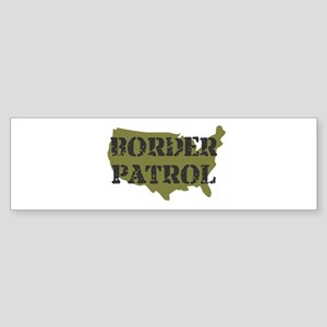 US BORDER PATROL SHIRT LOGO Bumper Sticker