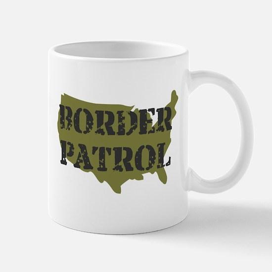 US BORDER PATROL SHIRT LOGO Mug