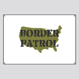 US BORDER PATROL SHIRT LOGO Banner