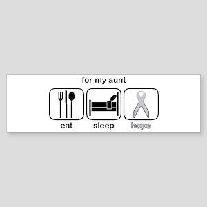 Aunt ESHope Lung Bumper Sticker