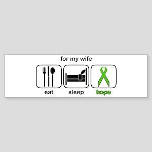Wife ESHope Lymphoma Bumper Sticker