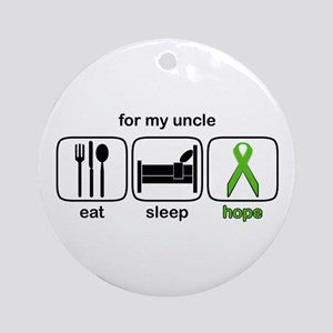 Uncle ESHope Lymphoma Ornament (Round)
