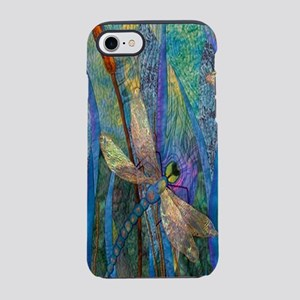 Colorful Dragonflies iPhone 7 Tough Case