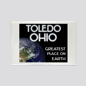 toledo ohio - greatest place on earth Rectangle Ma