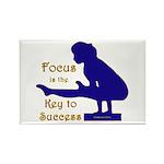Gymnastics Magnets (10) - Focus