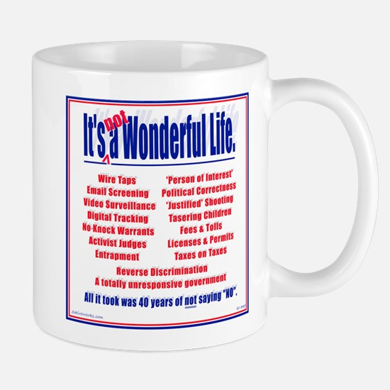 It's (not) a Wonderful Life. Mug