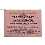 Traviata National Negro Opera Toiletry Makeup Bag