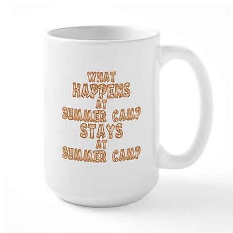 Summer Camp Large Mug