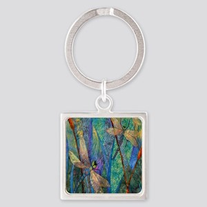 Colorful Dragonflies Keychains
