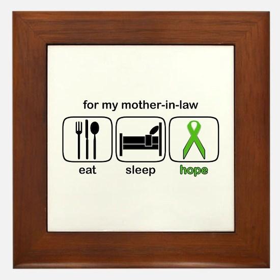 Mother-in-law ESHope Lymphoma Framed Tile