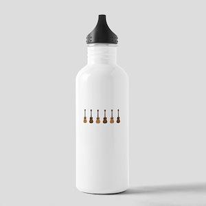 Uke Ukulele Ukuleles Stainless Water Bottle 1.0L