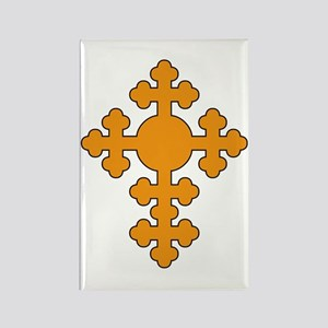Romanian Cross Rectangle Magnet