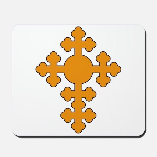 Romanian Cross Mousepad