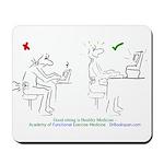 Mousepad Spine Reminder