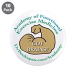 """Academy Button 3.5"""" (10 pack)"""